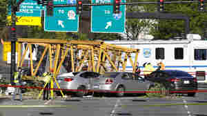 Construction Crane Falls From Roof, Killing 4 In Seattle