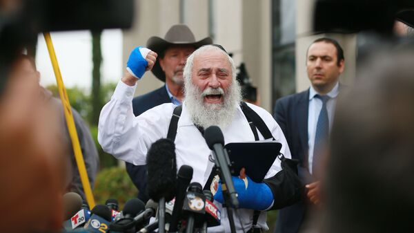 'I Couldn't See His Soul' Says Rabbi Following Deadly Shooting In Poway