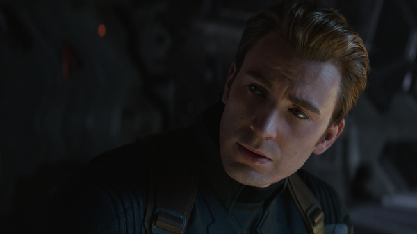 Chris Evans as Captain America in Avengers: Endgame. And yes, Cap, these are apparently the real numbers.
