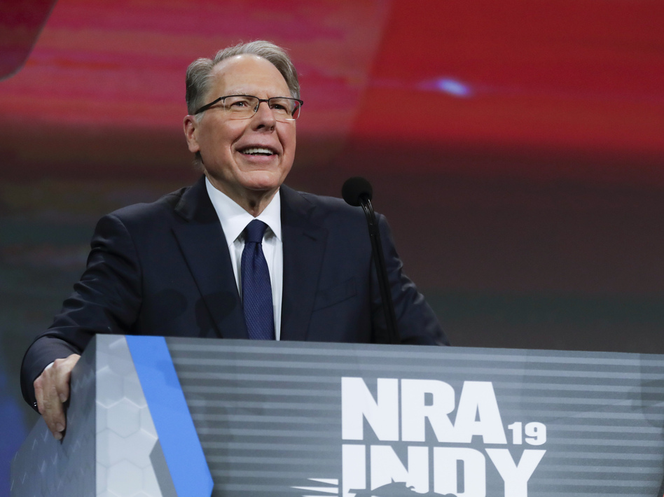 National Rifle Association Executive Vice President Wayne LaPierre faced criticism from the group's board members as allegations about financial mismanagement surfaced. (Michael Conroy/AP)