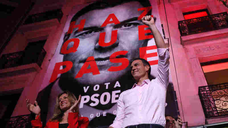 Socialists Win In Spanish Election; Far-Right Party Gains Seats For First Time