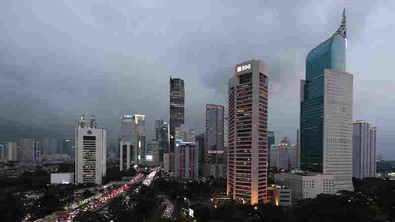 Indonesia Plans To Move Its Capital Out Of Jakarta, A City That's Sinking