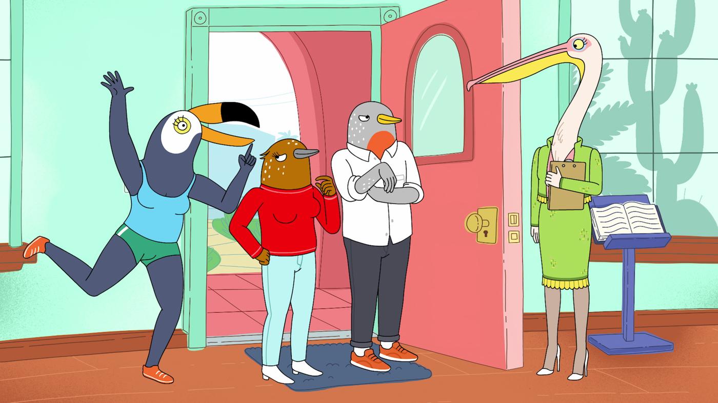 Lisa Women 'tuca Birds The Bertie' Creator Gives Words Npr Hanawalt amp;