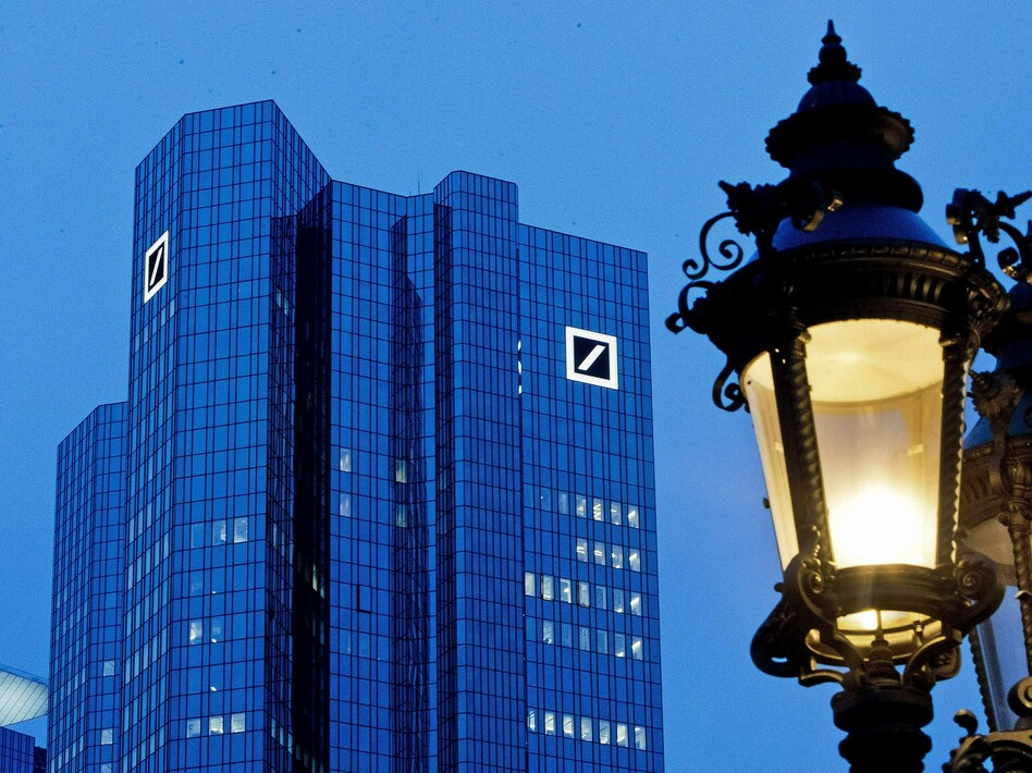 President Trump is suing Deutsche Bank, as well as Capital One, in attempt to block the banks from responding to subpoenas from two House panels seeking personal financial documents related to the president, his family and his company. (Michael Probst/AP)