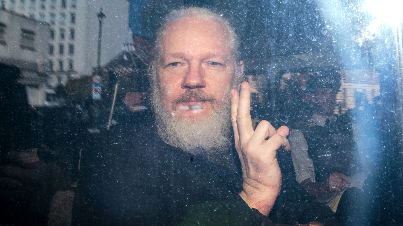 British Judge Sentences Julian Assange To 50 Weeks In Prison
