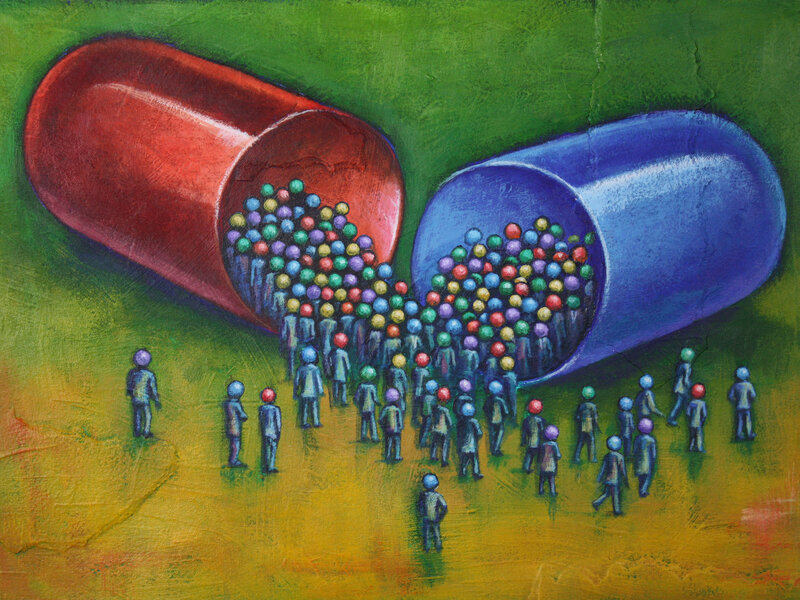 In 'Mind Fixers,' Anne Harrington Explores Role Of Drug Marketing In