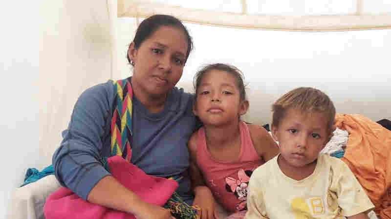 Venezuelans Find Temporary Lifeline At Colombia's First Border Tent Camp