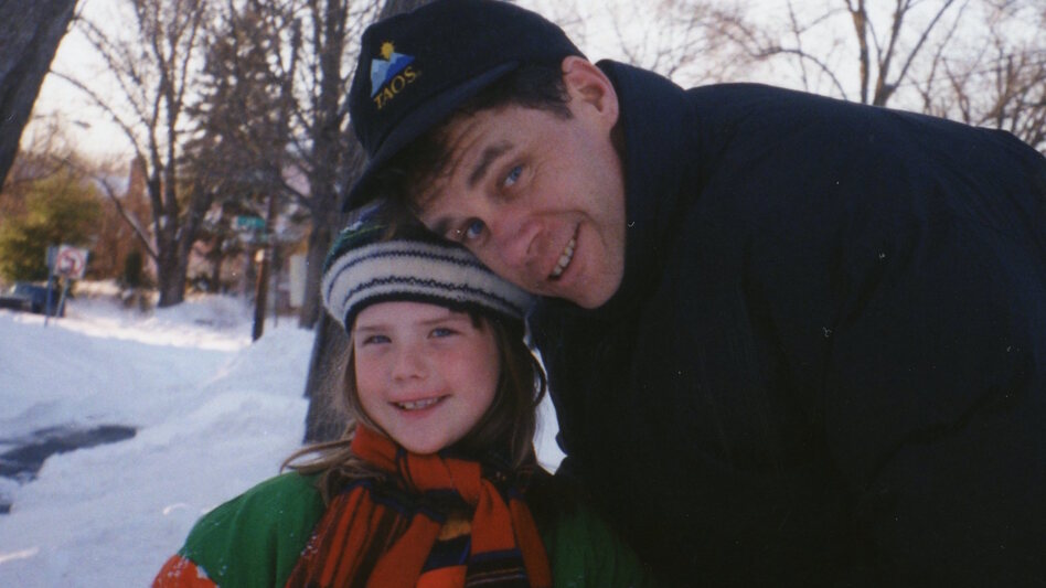 """Erin Lee Carr describes the 2015 death of her father, David Carr, as """"the most profound loss I will ever experience."""" (Courtesy of Erin Lee Carr)"""