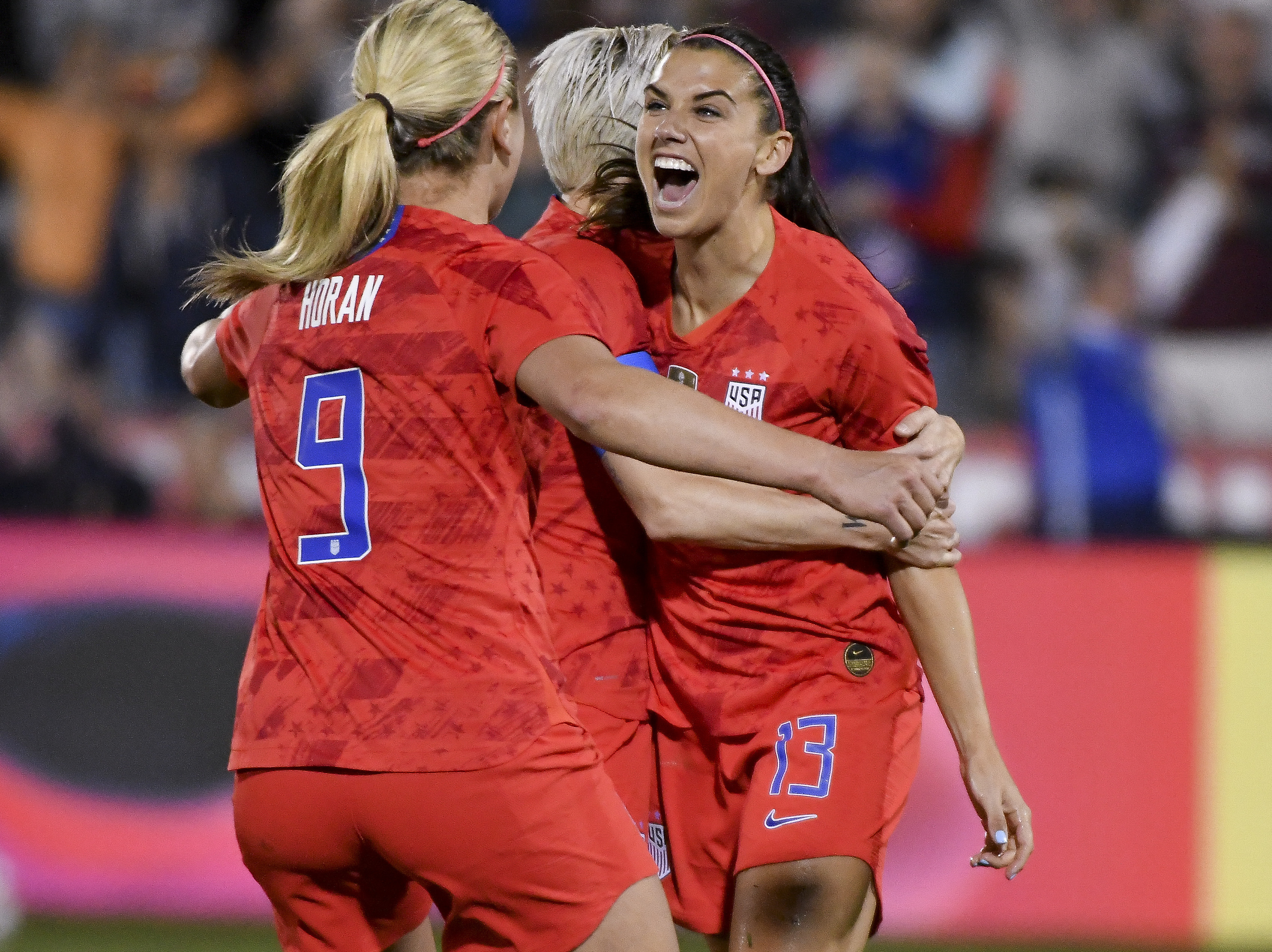 U S  Soccer Unveils Roster For Women's World Cup, As Team