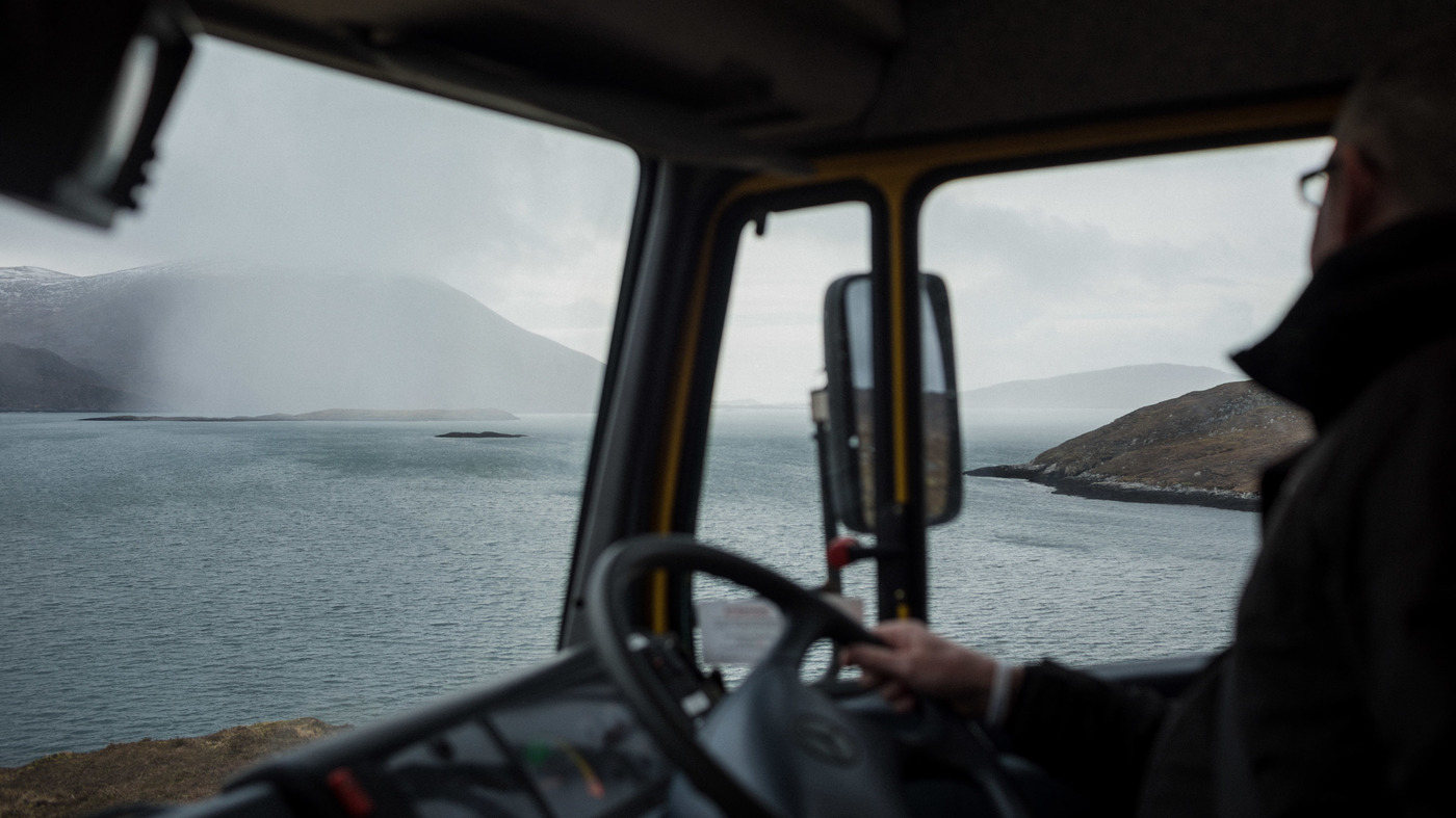 For Remote Communities In Scotland's Outer Hebrides, Mobile Libraries Are A Lifeline