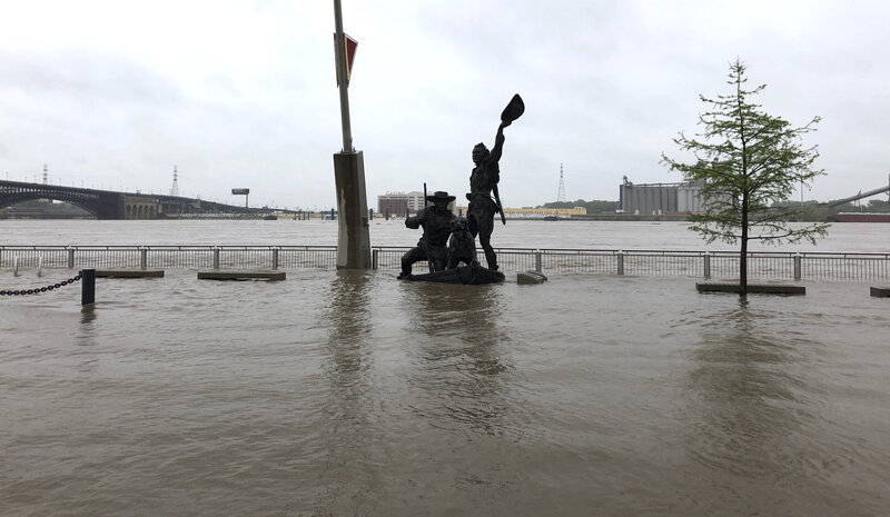Quad Cities Area Sees Record-Breaking Flooding : NPR