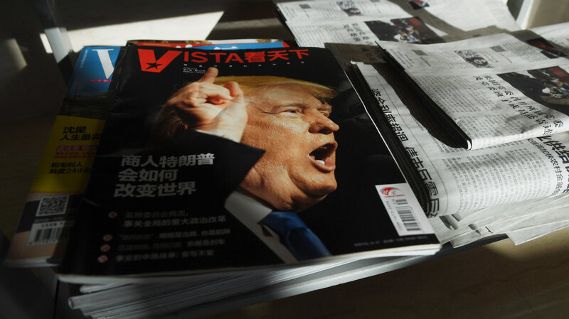 China Trade Talks Shaped By President Trump's Divided