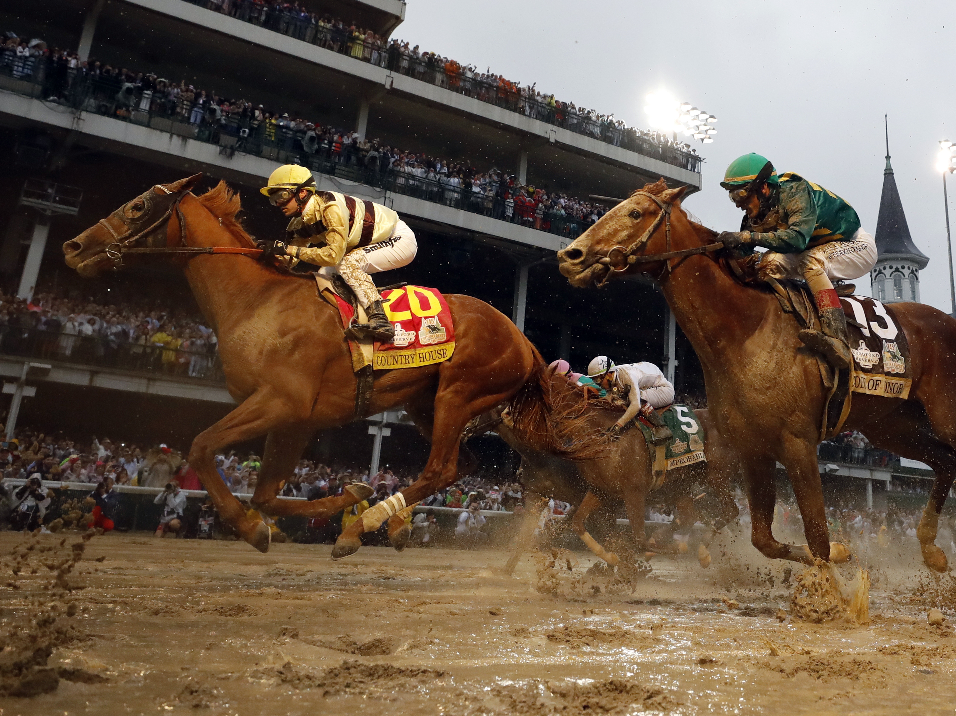 Country House, A 65-1 Long Shot, Wins Kentucky Derby After Historic Disqualification