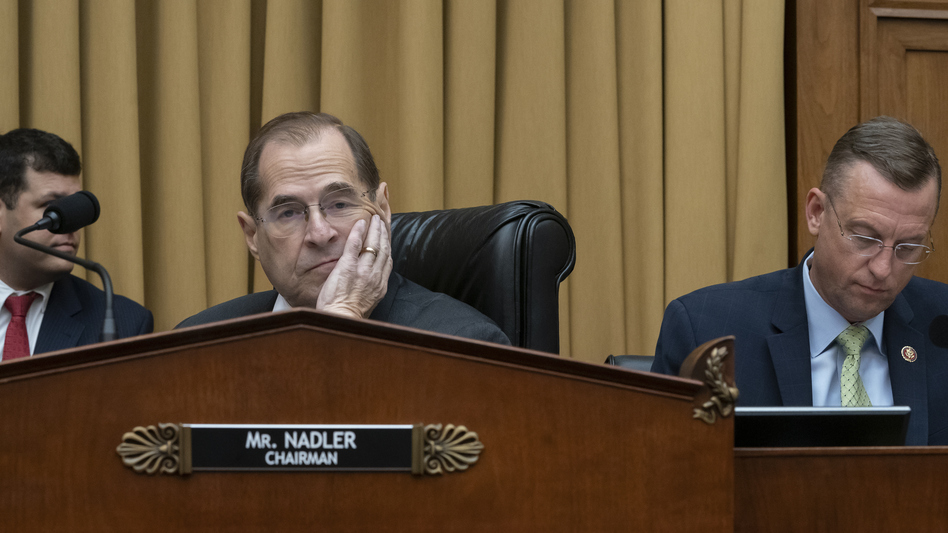 House Judiciary Committee Chair Jerry Nadler, D-N.Y., had set a Monday morning deadline for Attorney General William Barr to provide access to the unredacted Mueller report.