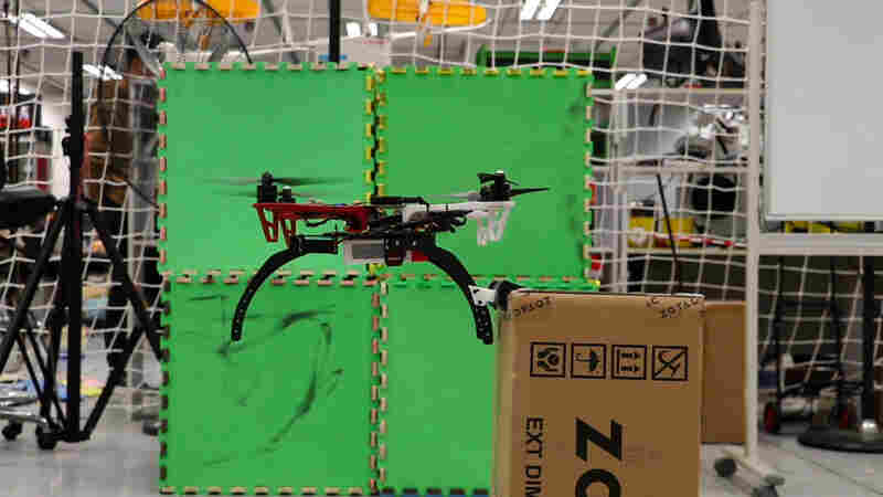 If Drones Had 'Claws,' They Might Be Able To Fly For Longer