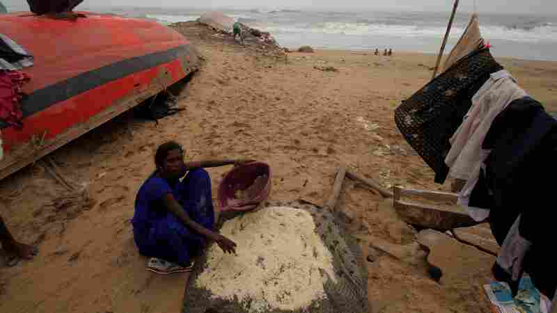 Rare Summer Cyclone Leaves Dozens Dead In South Asia
