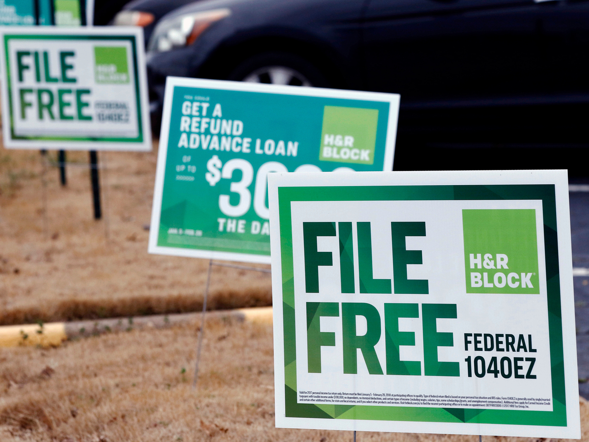 H And R Block Christmas Loan 2019 Intuit And H&R Block Sued, Accused Of 'Actively Undermining' IRS