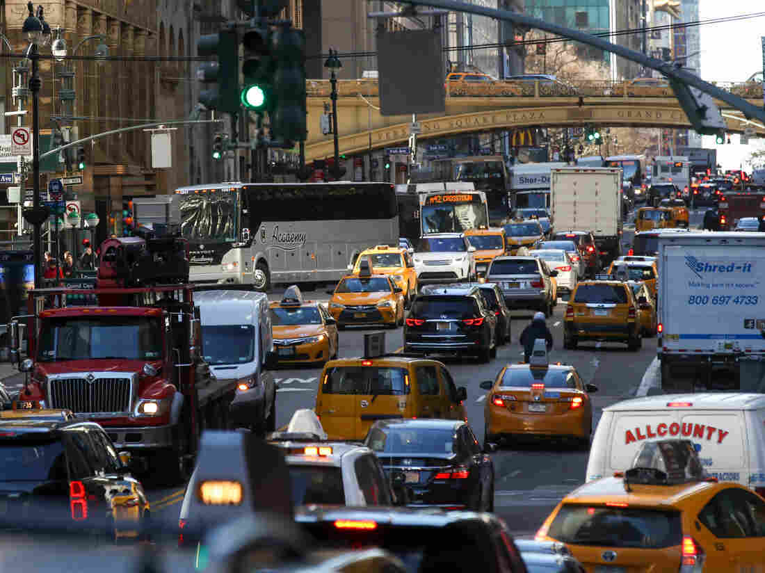 City Residents Oppose Congestion Pricing, But Opinions Usually Shift In Favor | NPR