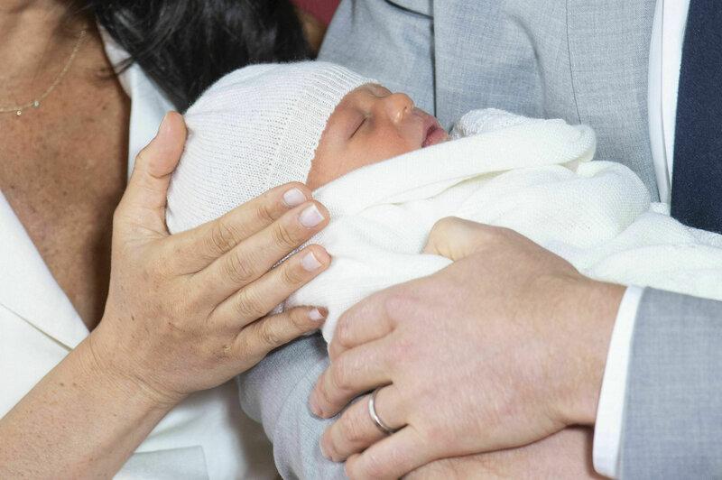 b2fa3a875 PHOTOS: Meghan Markle, Prince Harry Introduce The World To Their New ...