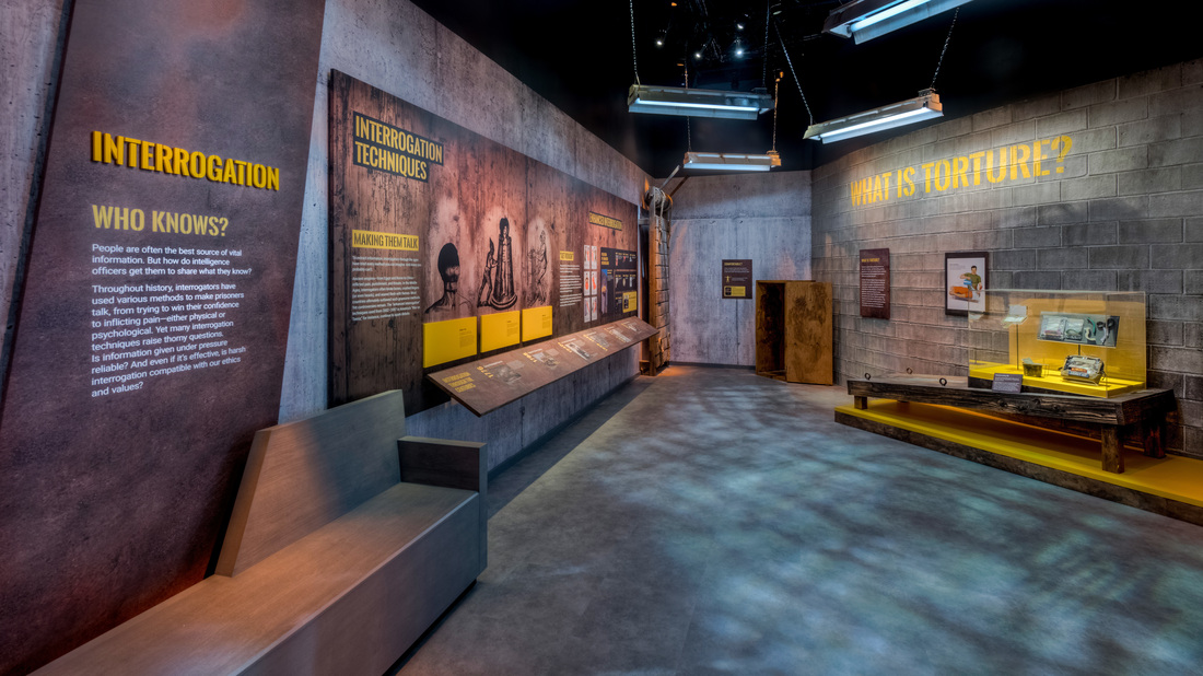 A New Spy Museum That Tackles Torture And Other Tough