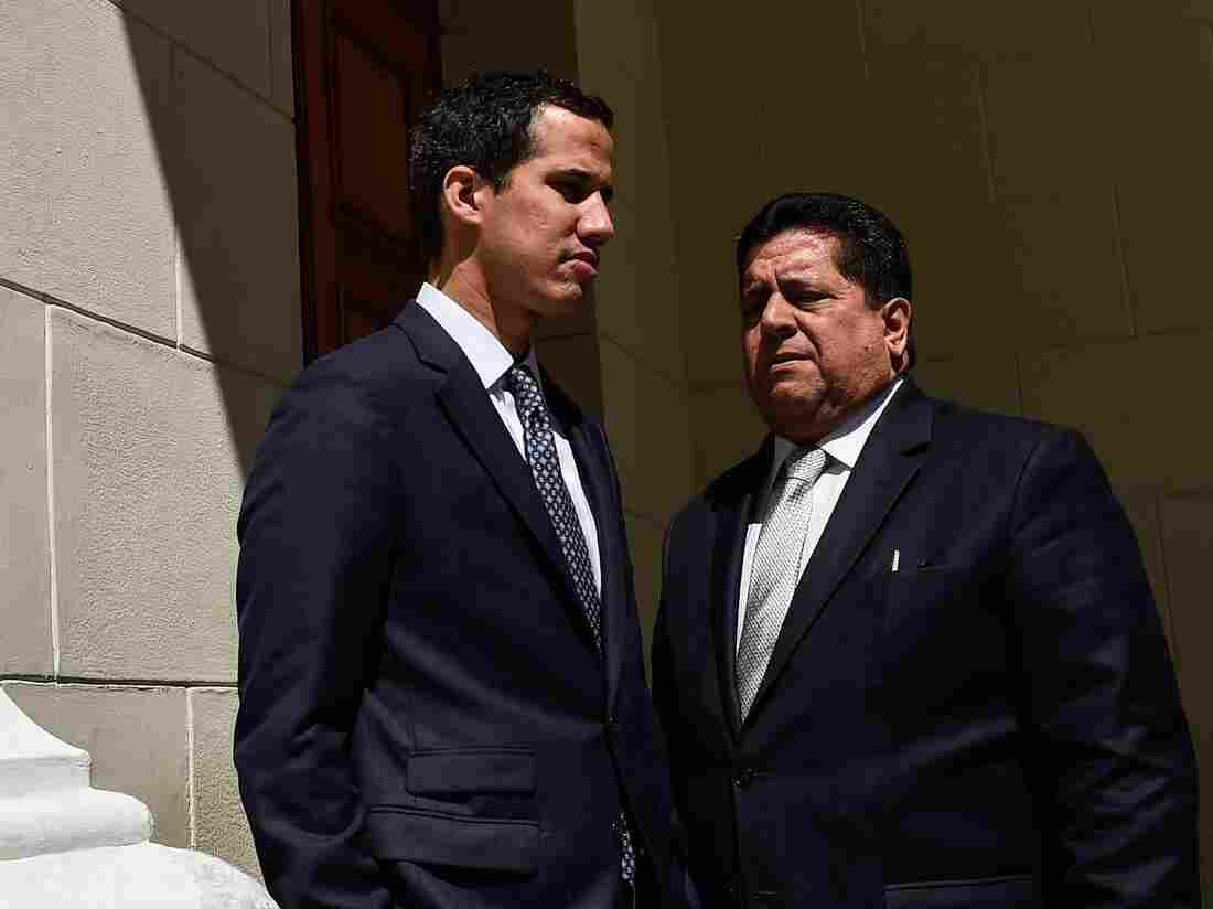 Venezuela opposition leader Guaido blasts Maduro over opposition crackdown
