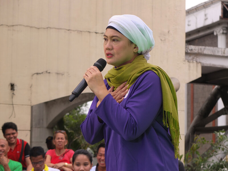A Muslim Woman Is Shaking Up Philippines' Senate Campaign : NPR