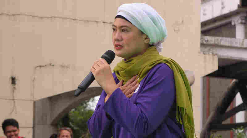 In Largely Catholic Philippines, A Muslim Woman Shakes Up Senate Campaign