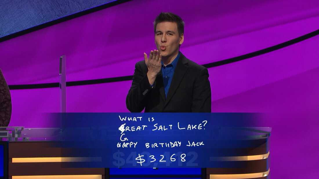 James Holzhauer's first win on Jeopardy!