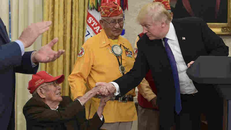 World War II Veteran and Navajo Code Talker Fleming Begaye Sr. Dies At 97
