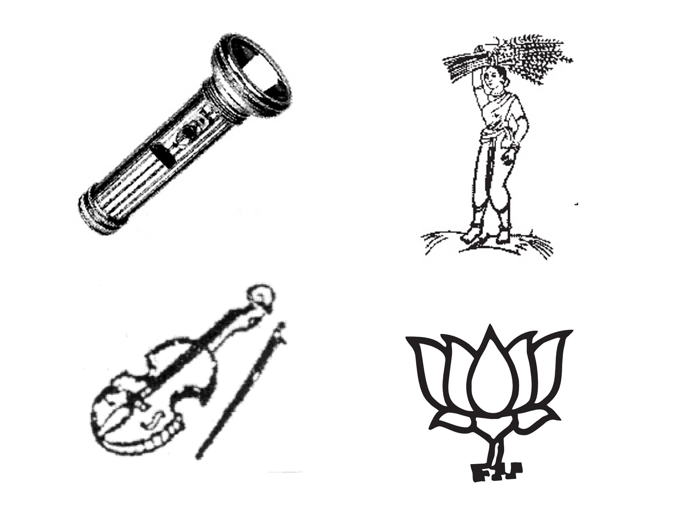 India's Ballot Has Some Really Offbeat Symbols For Its