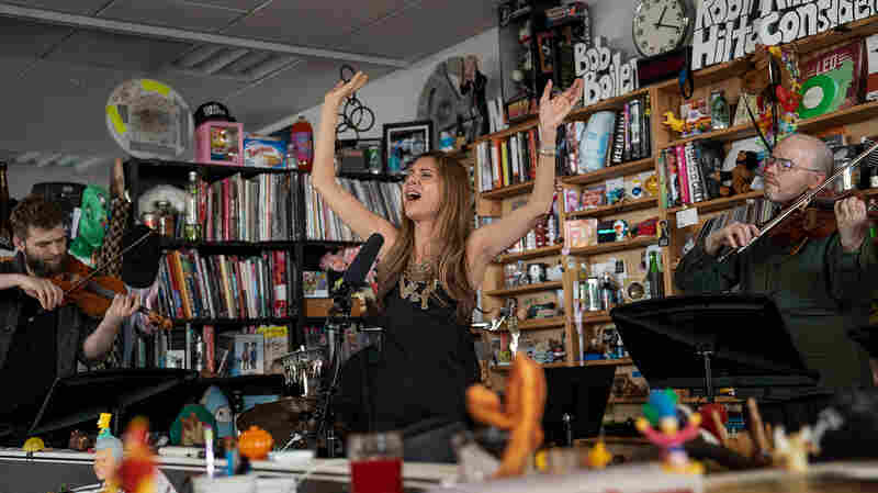 Magos Herrera and Brooklyn Rider: Tiny Desk Concert