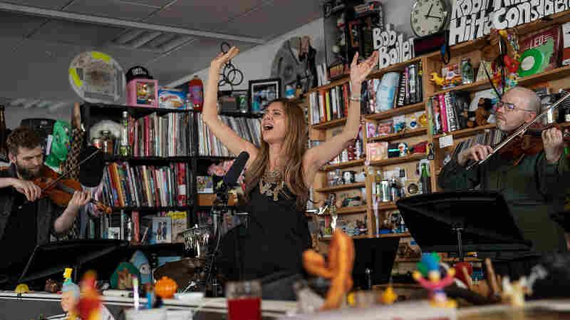 Magos Herrera and Brooklyn Rider: Tiny Desk Concert