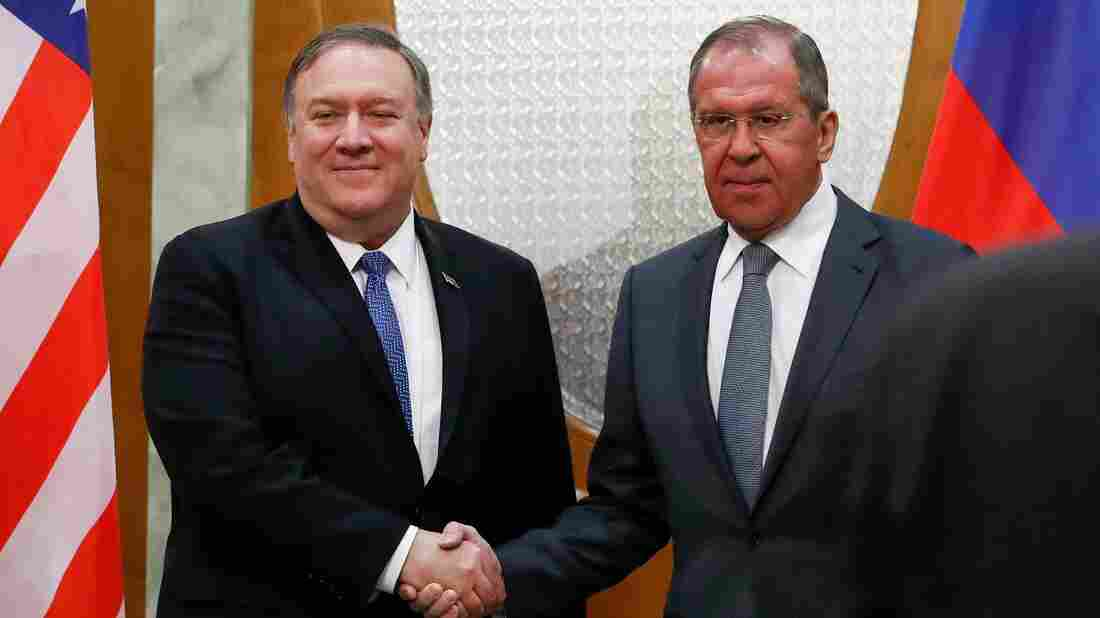 Russian Federation  tells Pompeo: Enough mistrust, let's reboot ties