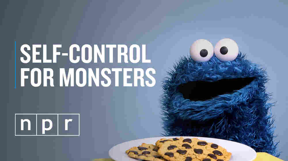 WATCH: It's Hard To Delay Gratification. Just Ask Cookie Monster
