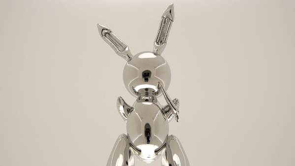 Jeff Koons  Rabbit  Fetches $91 Million, Auction Record For Work By Living Artist