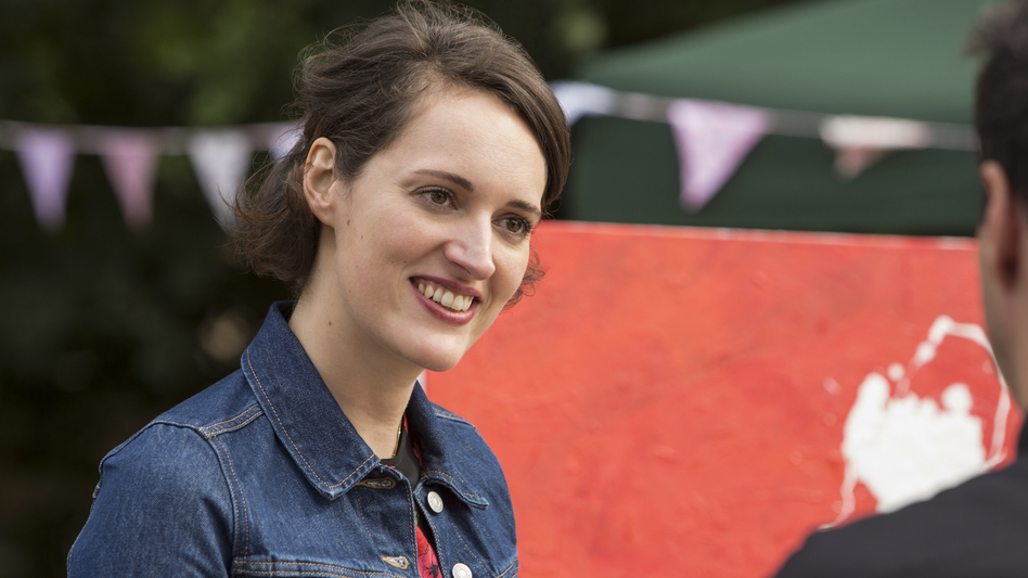 In <em>Fleabag</em>, the show's creator and writer Phoebe Waller-Bridge stars as a young Londoner struggling to make sense of sex, family and life itself. (Steve Schofield/Courtesy of Amazon)