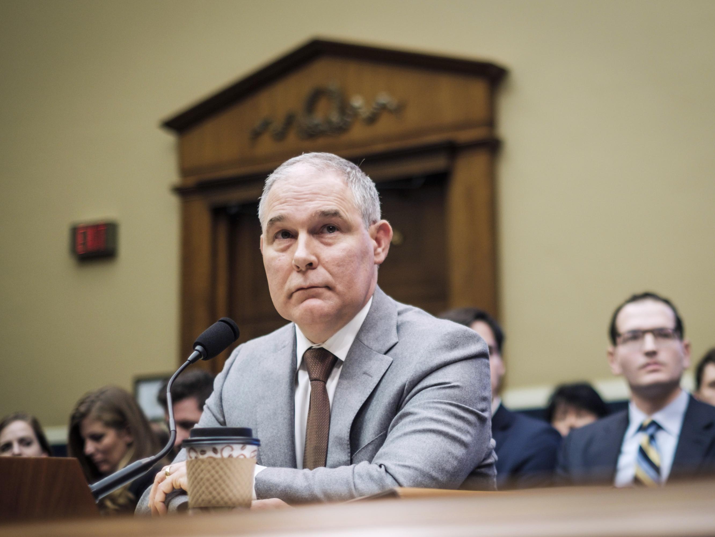 EPA Watchdog Finds Ex-Chief Scott Pruitt Spent $124,000 On 'Excessive' Airfare