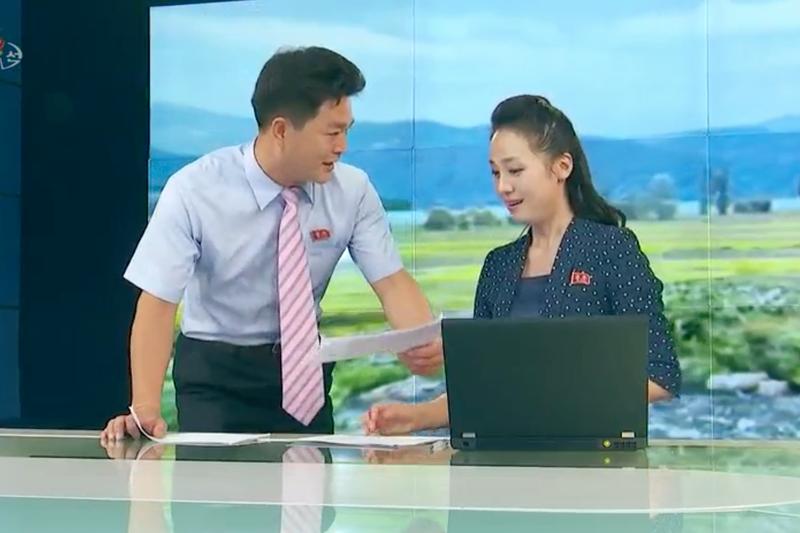 North Korean State TV Gets A Makeover : NPR