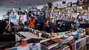 NPR Music's Tiny Desk Debuts Music by Radiohead's Jonny Greenwood