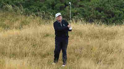 President Trump's Golf Scores Hacked On U.S. Golf Association Account