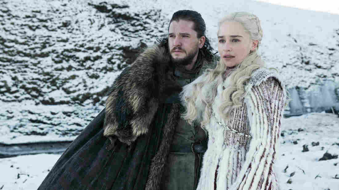 Will Jon Snow (Kit Harington) and Daenerys (Emilia Clarke) stay safe in the final season of Game of Thrones? Will their kicky winter camouflage help?