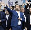 L'italiano Matteo Salvini spera di guidare le ondate di nazionalismo nelle prossime elezioni europee