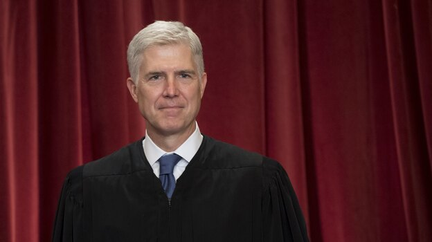 Supreme Court Justice Neil Gorsuch, pictured in 2017, has proven to be a deciding vote on Native American rights. (Saul Loeb/AFP/Getty Images)