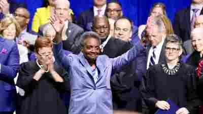 In Historic First, Chicago Inaugurates Lori Lightfoot As Mayor