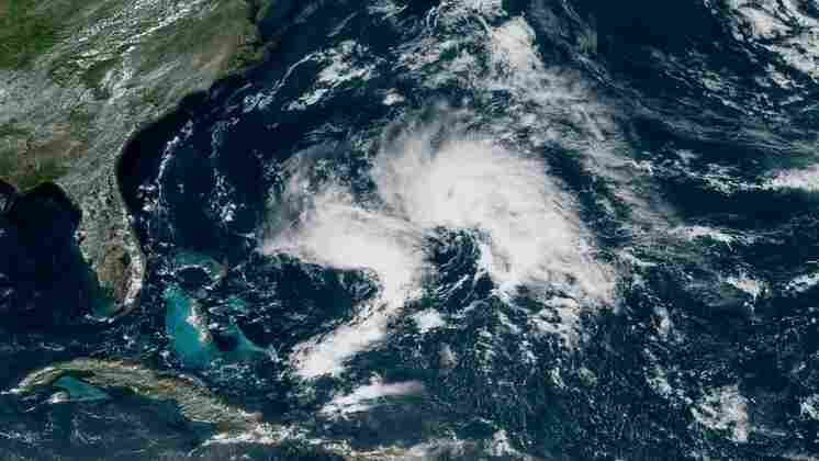 Andrea Is 1st Named Storm Of Atlantic Hurricane Season