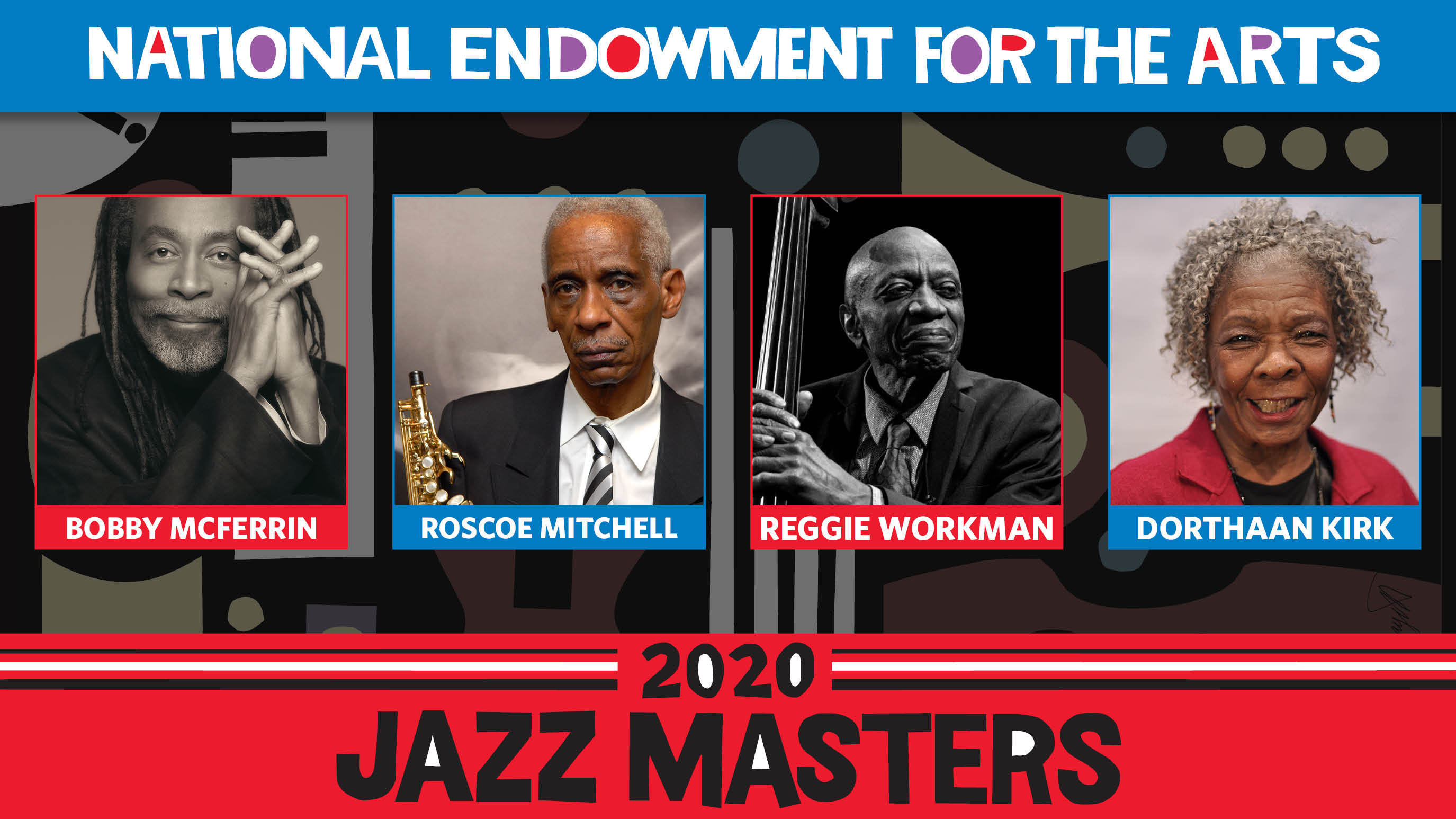 Meet The NEA's 2020 Jazz Masters: McFerrin, Mitchell, Workman And Kirk