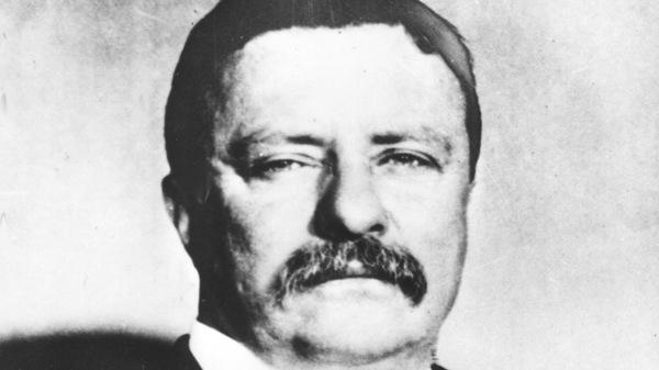 "Former U.S. President Theodore ""Teddy"" Roosevelt."