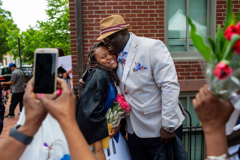 Formerly Homeless Student Graduates From Georgetown ...