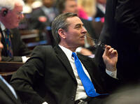 Tennessee Republican Glen Casada says he will resign as state House speaker after exchanging inappropriate and offensive text conversations with a former aide.