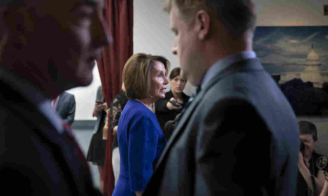Pelosi And Trump Trade Jabs Over President's 'Temper Tantrum'